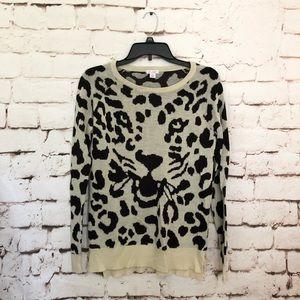 Xhilaration Jaguar Print Sweater